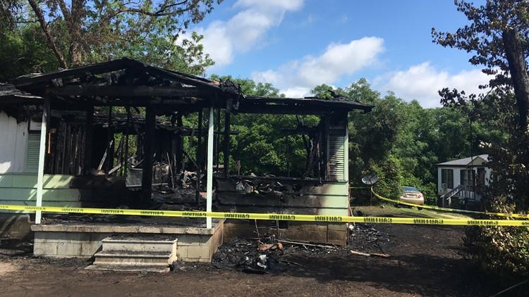 Macon County house fire