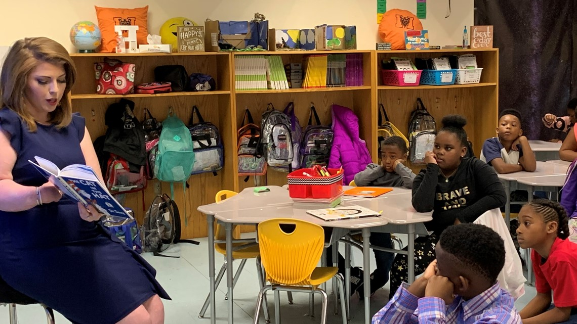 13WMAZ Does Read Across America Day 2019