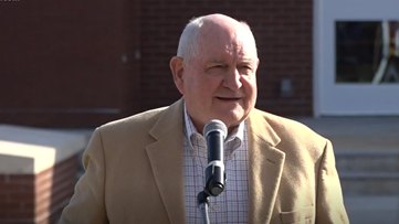 'This is home': Georgia National Fairgrounds dedicates new arena to Sonny Perdue