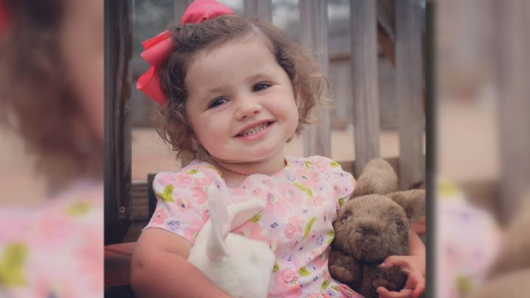 'We'll help anyway we can': Laurens County community comes together to support 3-year-old girl with a tumor