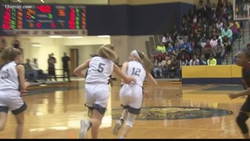Eaglettes react to 4th straight region title