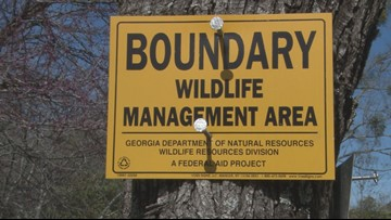 'I don't feel good about it:' Bibb neighborhood concerned about hunting land borders