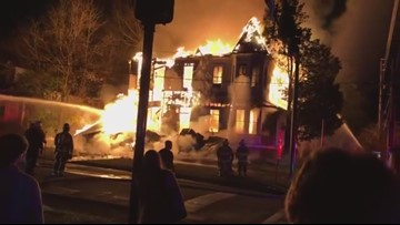 Theta Chi fraternity house burns in Milledgeville