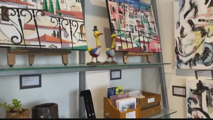 Macon's First Street Art & Wine Festival unites craft and wine lovers alike