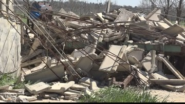 Crews still cleaning up after tornadoes hit Peach County
