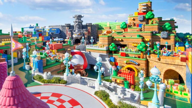 PHOTOS: Check out the new Super Nintendo World! 🌟🍄