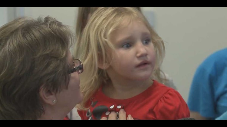 Rebecca Lewis reunited with family in Lakeland
