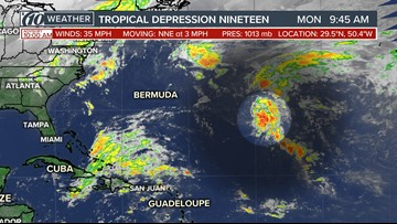 National Hurricane Center: Depression forms in Atlantic, poses no threat to US