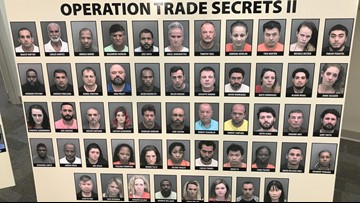 Fla. sheriff: More than 100 people arrested in human trafficking investigation