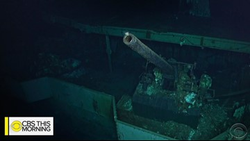 Wreckage of World War II aircraft carrier USS Hornet discovered