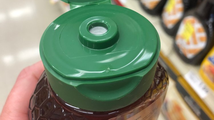 Honey with a protective seal