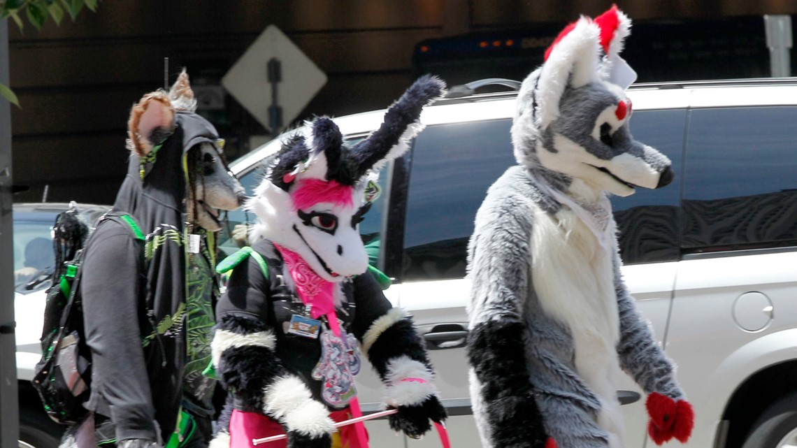 Vigilante 'furries' band together to stop an assault