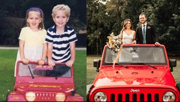 Florida 'sweethearts' met in preschool. They were separated and fell in love 12 years later.