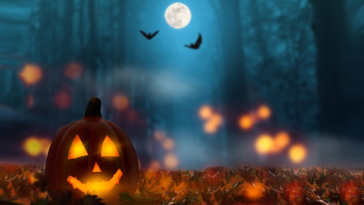 Whats The Weather Going To Be Like On Halloween 2020 When is the next full moon? What's a Blue Moon? | 13wmaz.com
