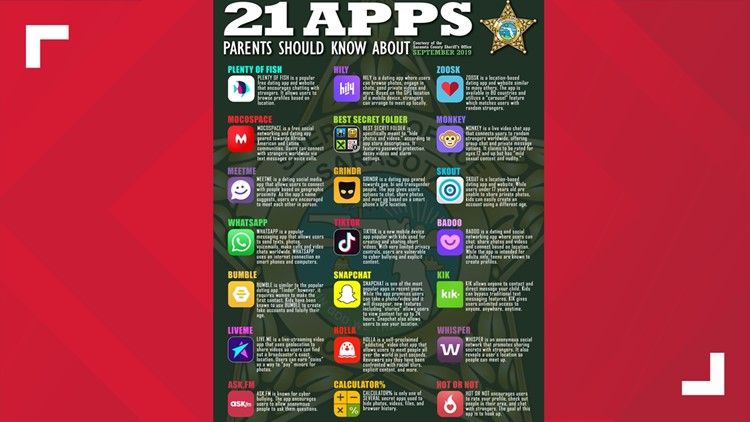 21 apps to look out for on kids phones