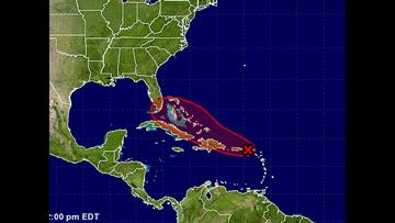 Hurricane would soak waterlogged South