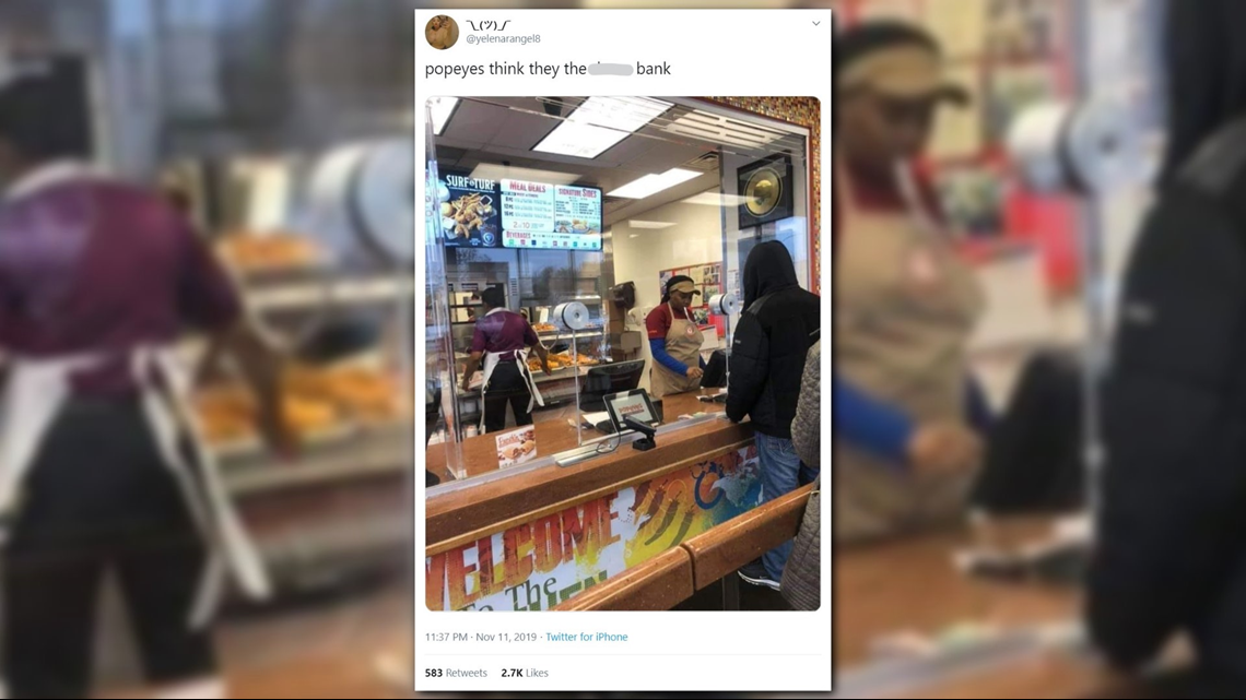 VERIFY: Did Popeyes begin installing partitions following recent violence at some locations?