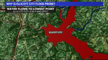 Ellicott City flooding: Why it's prone to such catastrophy