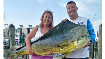 Pasadena woman reels in 74.5-pound fish, sets new Maryland state record
