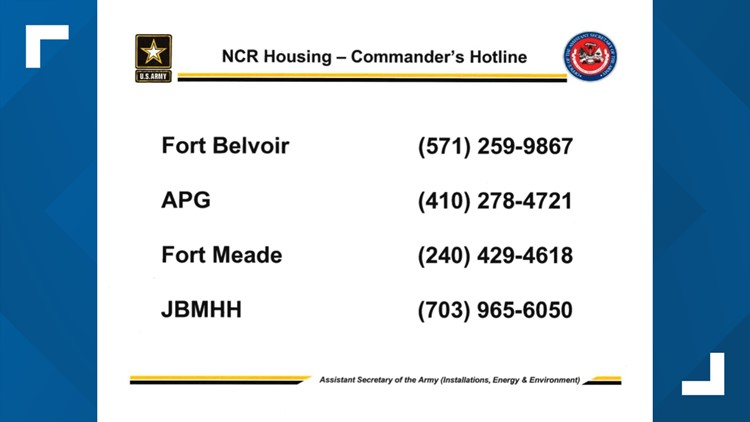 army hotline numbers