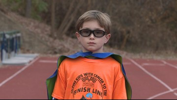 'There are no age requirements to make a difference'   9-year-old runs for kids with cancer