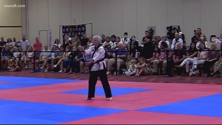 83-year-old grandma has black belt in karate