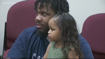 Portsmouth Sheriff's Office hosts father-daughter dance for incarcerated dads