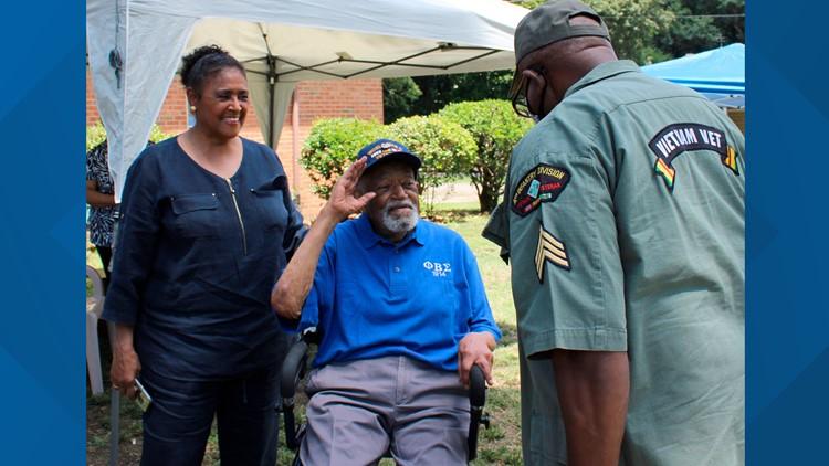 WWII veteran celebrates 104th birthday in Virginia