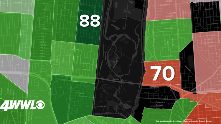 City park life expectancy