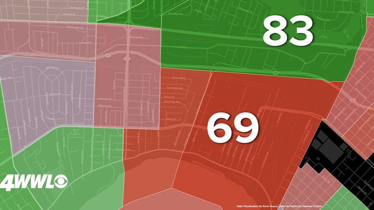 Old Metairie Life Expectancy