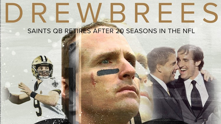 Drew Brees retires after 20-year, Hall of Fame NFL career