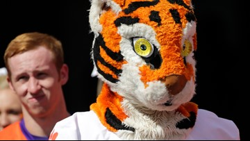LSU fan's GoFundMe to buy Clemson a new mascot costume raises more than $2k