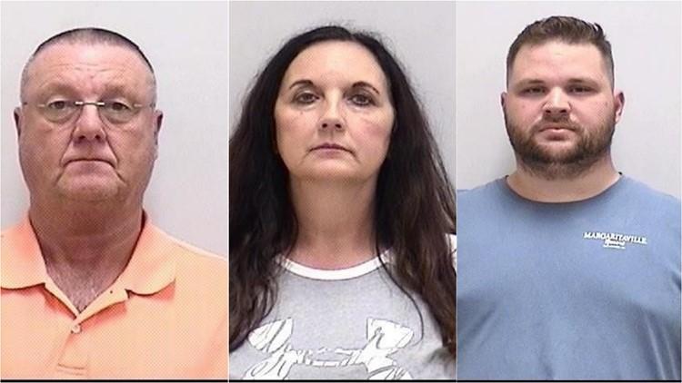 David King, Jane Lanette Richards, Blake Douglas Scheff