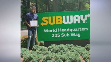 From homeless to one of the youngest Subway franchise owners in Atlanta