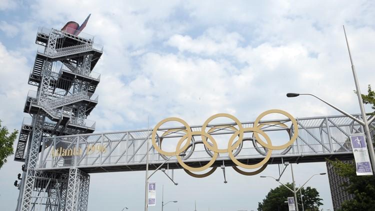 Atlanta Olympic cauldron to be lit for marathon trials