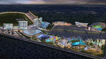 This is what a proposed $1B casino, entertainment complex could look like at Atlanta Motor Speedway
