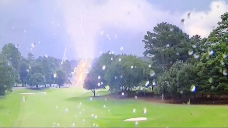 Authorities: 6 injured after lightning strike during PGA TOUR Championship in Atlanta