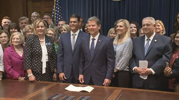 Gov. Kemp signs 'heartbeat bill' into law