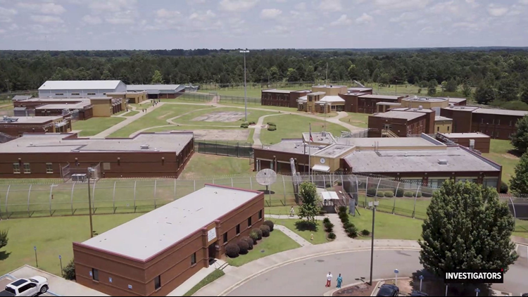 Sumter Youth Facility Aerials