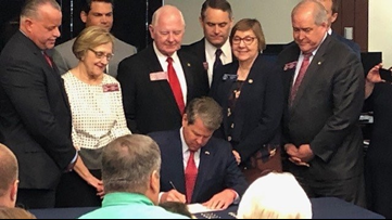 Gov. Kemp signs several bills into law | Here's the breakdown