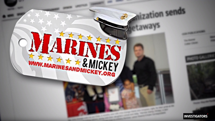Marines and Mickey
