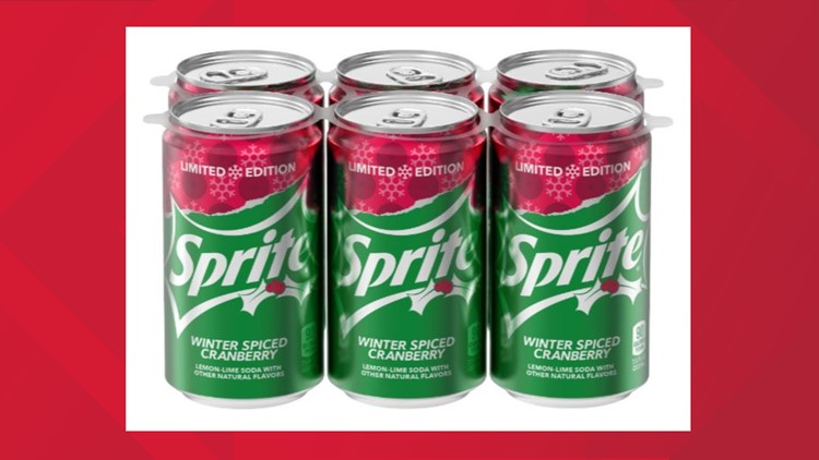Sprite Winter Spiced Cranberry