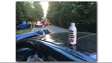 'Think twice' warns sheriff's office with impactful DUI crash picture