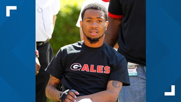 'I'm home.' Football player paralyzed during UGA game reacts to the house built for his family