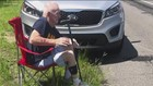 Navy veteran was stranded on the side of the road until a stranger stepped in to help