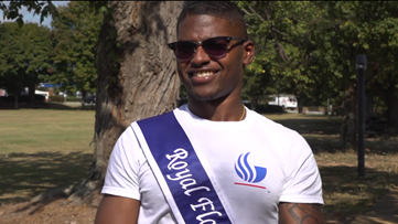 First black, deaf man wins homecoming title in Georgia State University's history