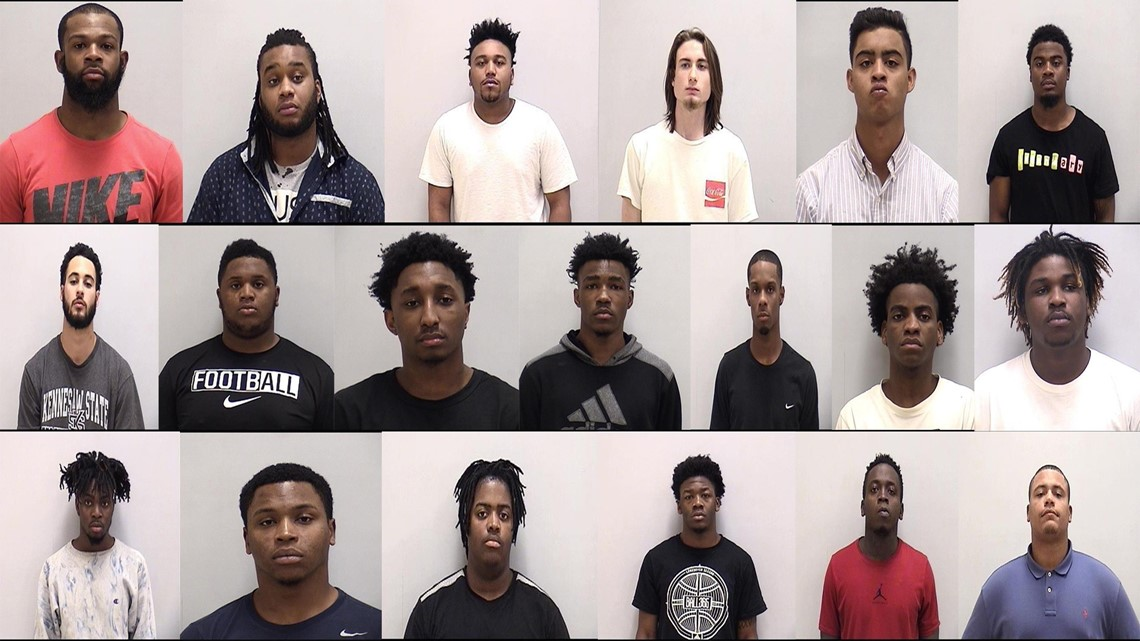 Lingerie-themed birthday party ends with 70+ arrests: Mugshots