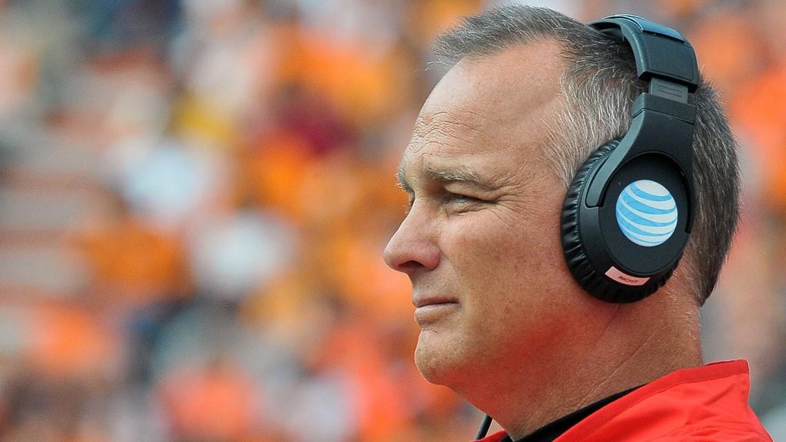 Former Georgia head coach Mark Richt suffers heart attack