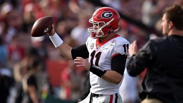UGA quarterback Jake Fromm suffers broken hand