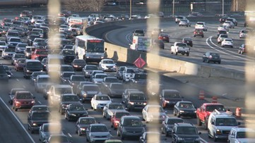 Atlanta a top city for traffic congestion in the US, study says
